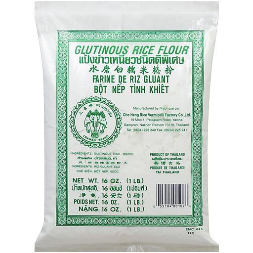 3 Elephant Sweet Rice Flour