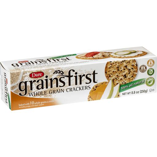Dare Crackers, Whole Grain