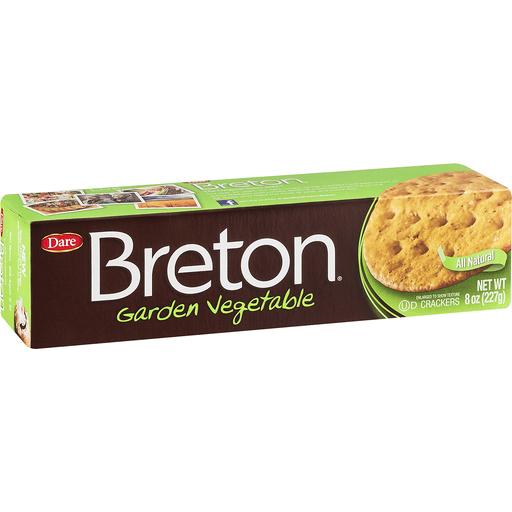 Breton Breton Crackers, Garden Vegetable