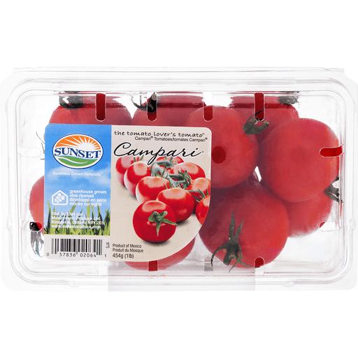 Sunset Tomatoes, Campari
