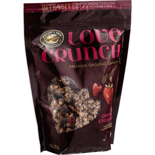 Love Crunch Organic Organic Granola, Premium Organic, Love Crunch, Dark Chocolate & Red Berries