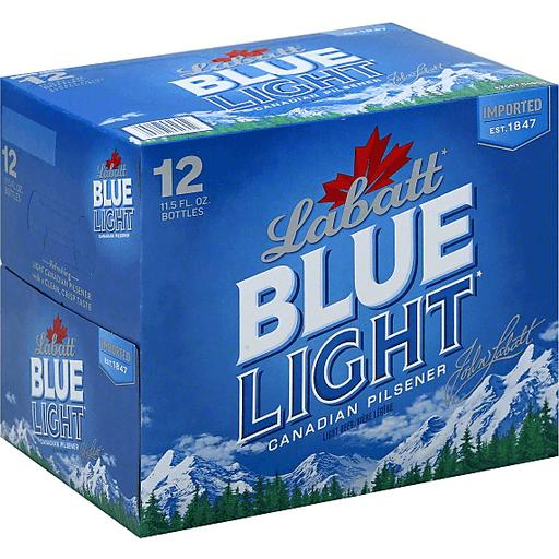 Labatt Blue Light Beer, Canadian Pilsener, Light