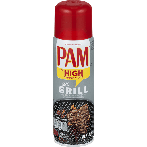 Pam Cooking Spray, No-Stick, Grilling