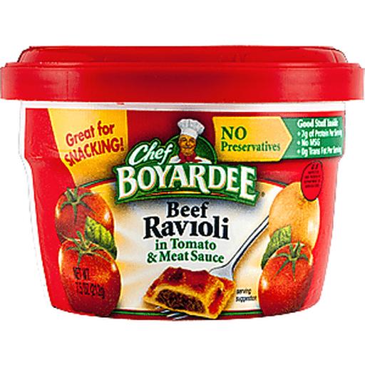 Chef Boyardee Ravioli, Beef