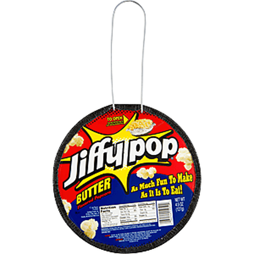 Jiffy Pop Popcorn, Butter Flavored