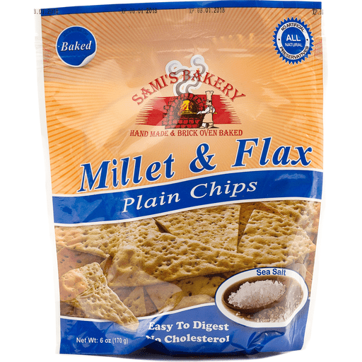 Sami's Millet And Flax Plain Chips