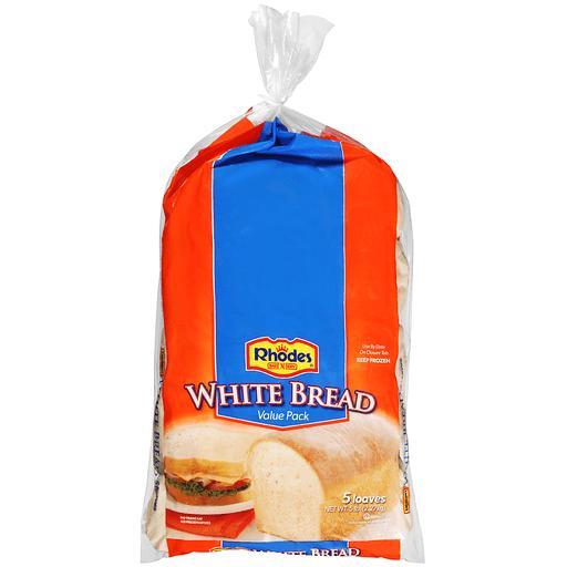 Rhodes Bread, White, Value Pack