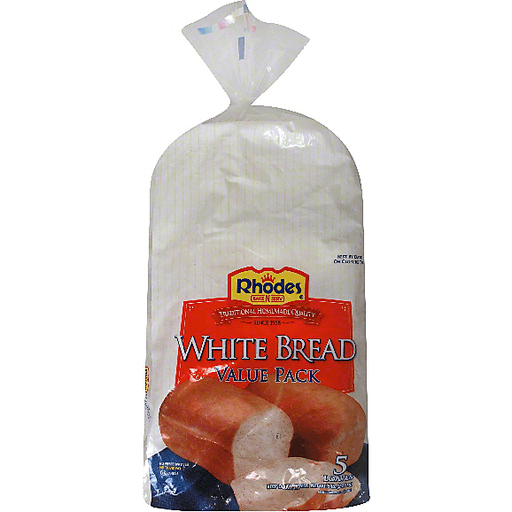 Rhodes Bake N Serv White Bread Dough Value Pack Miller And Sons