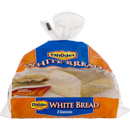 Rhodes Bake-N-Serv White Bread