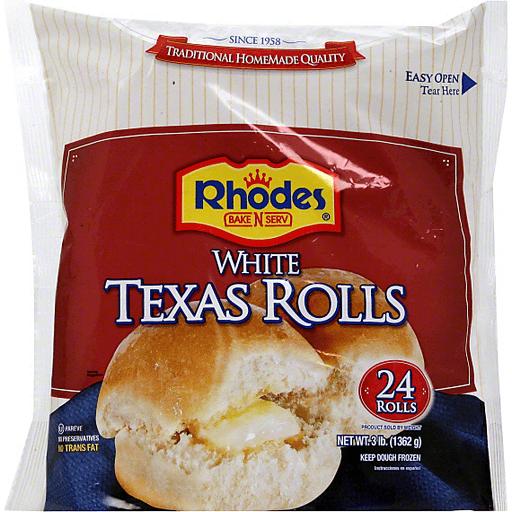Rhodes Bake N Serv Texas Rolls White Buns Rolls Frick S Market