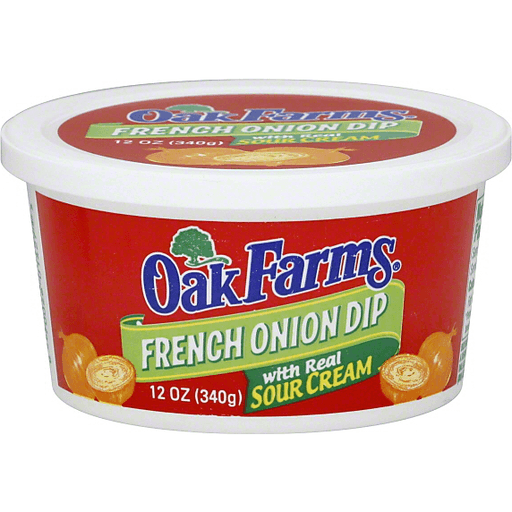 Oak Farms Dip French Onion Fresh Refrigerated Dips Reasor S