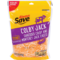 Always Save Colby Jack Shredded Cheese | Rubys Price Cutter