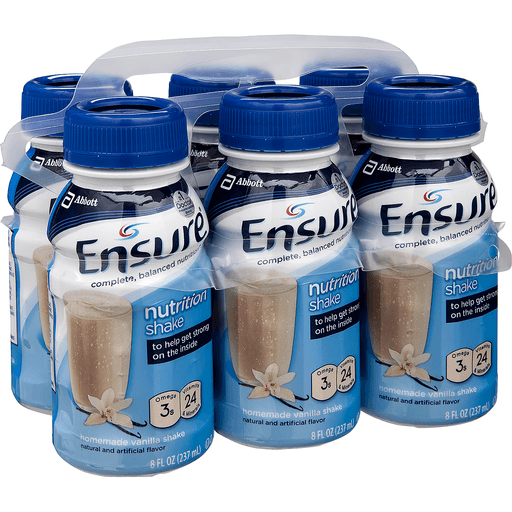 Ensure Nutrition Shake, Original, Vanilla