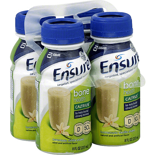 Ensure Muscle Health Revigor Homemade Vanilla Shake., Targeted, specialized nutrition., To help rebuild muscle and strength naturally lost over time., ...
