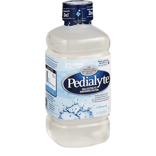 Pedialyte Electrolyte Solution, Unflavored, for Infants