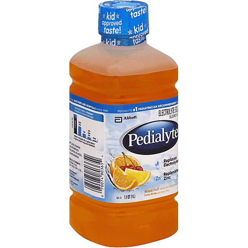 Pedialyte Electrolyte Solution, Mixed Fruit | Children's ...