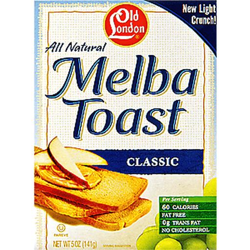 Old London Melba Toasts, Classic