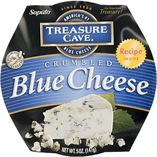 Treasure Cave Cheese, Crumbled, Blue