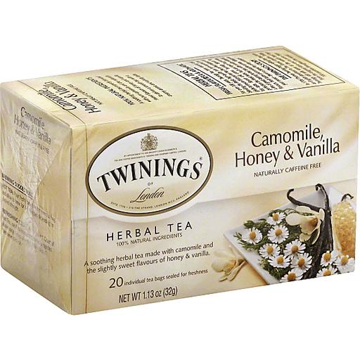 Tea Herbal Tea Chamomile, Honey