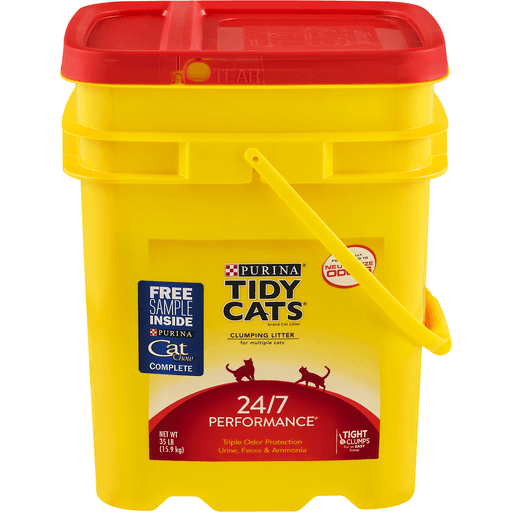 Tidy Cats 24/7 Performance Cat Litter, Clumping, for Multiple Cats