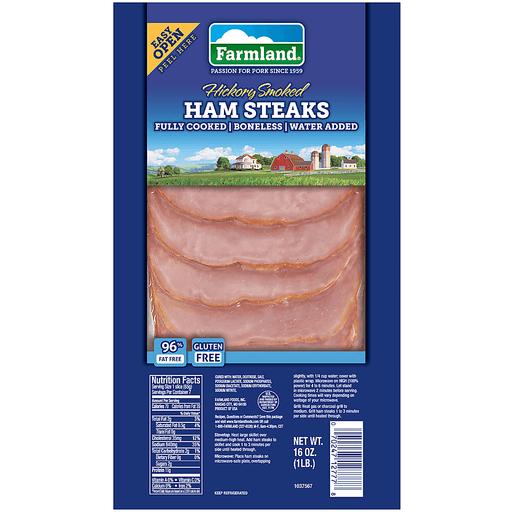 Farmland® Hickory Smoked Ham Steaks 16 oz. Pack