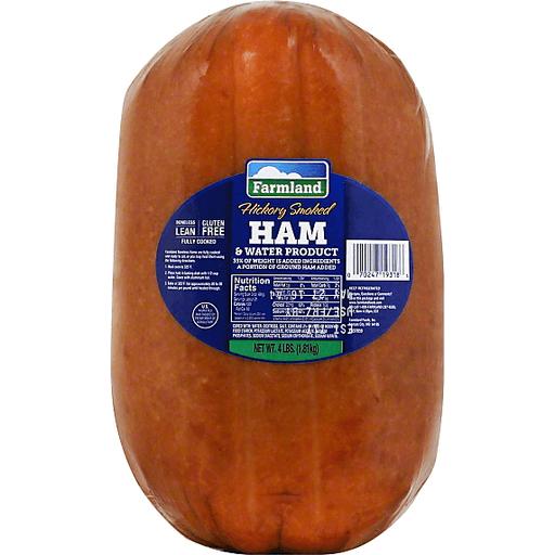 Farmland Ham & Water Product, Hickory Smoked