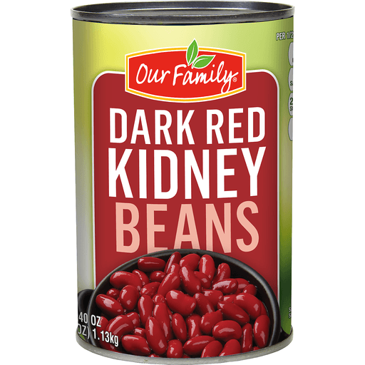 Our Family Dark Red Kidney Beans Large Can Chili Kidney Martin S Super Markets