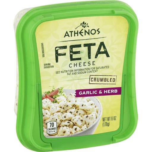 Athenos Feta Cheese Garlic & Herb