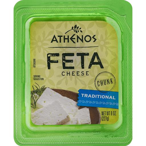 Athenos Cheese Chunk, Feta, Traditional
