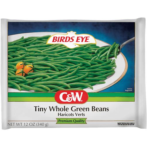 Birds Eye® C&W® Tiny Whole Green Beans 12 oz. Bag