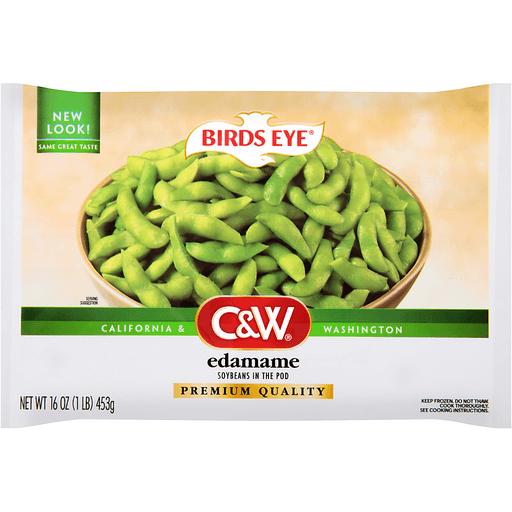 Birds Eye® C&W® Edamame Soybeans in the Pod 16 oz. Bag