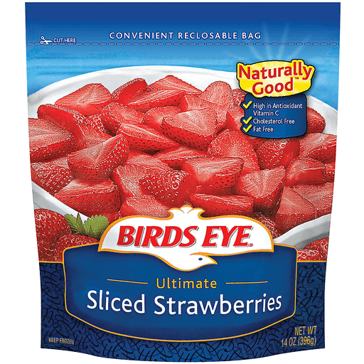 Birds Eye® Sliced Ultimate Strawberries 14 oz. Bag