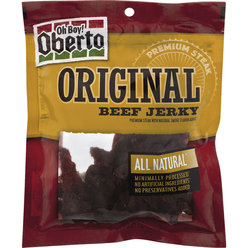 Oh Boy! Oberto All Natural Original Beef Jerky