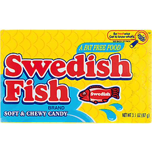 Swedish Fish Candy, Soft & Chewy