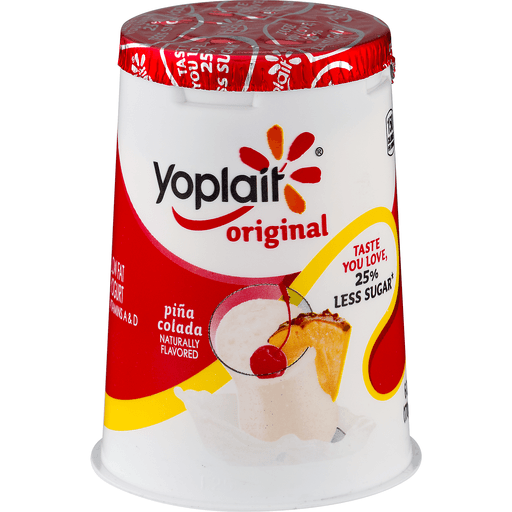 Yoplait Original Yogurt, Low Fat, Pina Colada