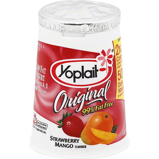 Yogurt Strawberry Mango 6.0 oz. Cup