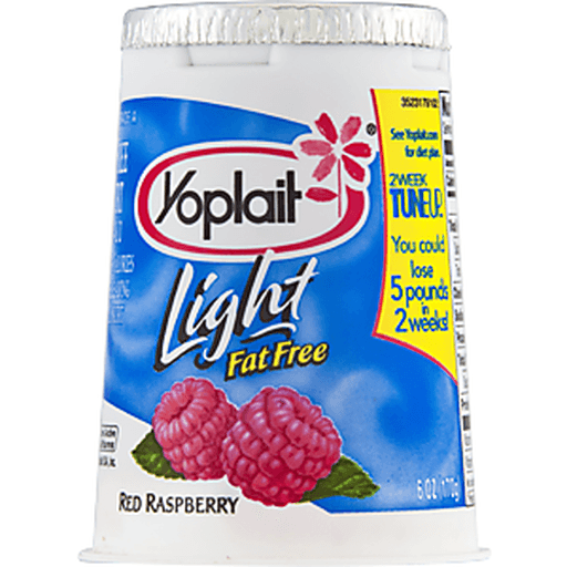 Yoplait Light Yogurt, Fat Free, Red