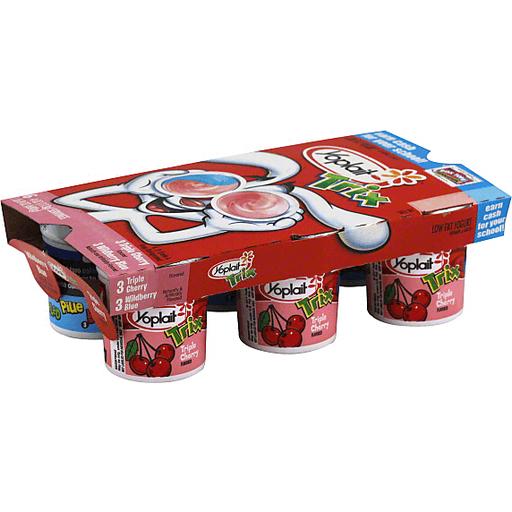 Yoplait Trix Yogurt, Lowfat, Assorted