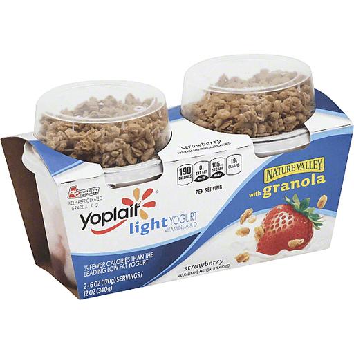Yoplait Light Yogurt, with Nature