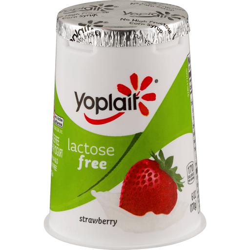 Yoplait Yogurt, Low Fat, Lactose Free, Strawberry