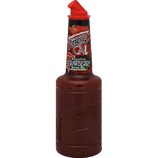 Finest Call Strawberry Puree Mix, Premium