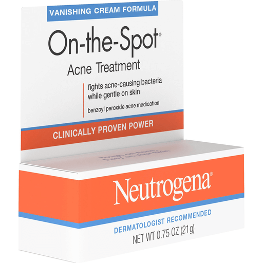 Neutrogena Acne Facial Treatments Cream All Skin Types