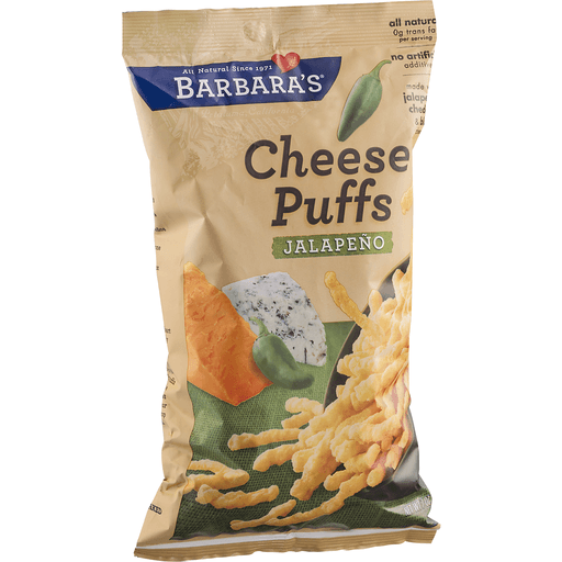 Barbara's Cheese Puffs Jalapeno