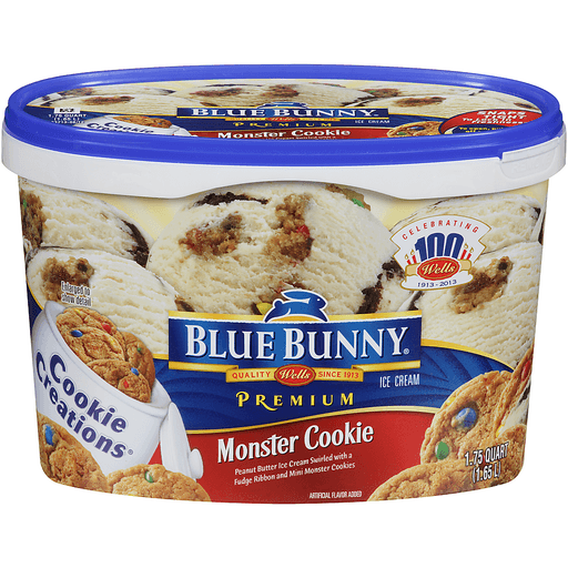 blue bell blue monster ice cream