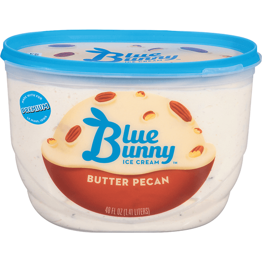 Blue Bunny Ice Cream Butter Pecan