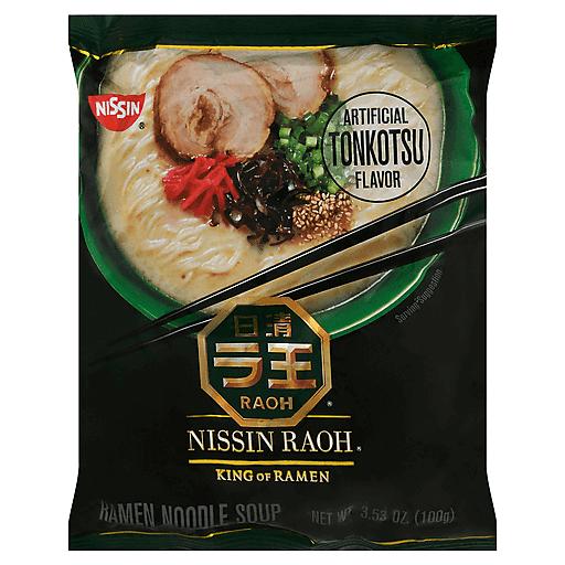 Nissin Raoh Umami Tonkotsu Ramen