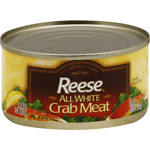 Reese Crab Meat, All White