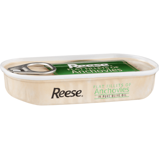 Reese Flat Fillets of Anchovies, in Pure Olive Oil
