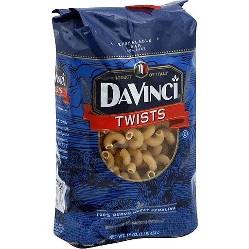 DaVinci Twists Premium Real Italian Pasta