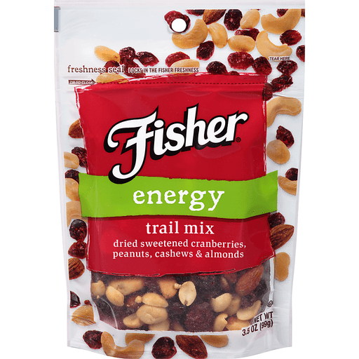 Fisher Trail Mix, Energy